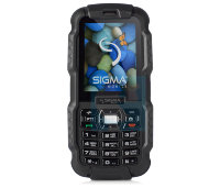 Мобильный телефон Sigma Mobile X-treme DZ67 Travel Black-Black телефон-рация