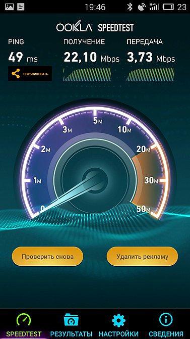Speedtest 3G Киевстар